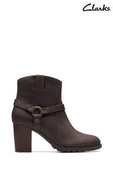 Clarks Brown Verona Rock Boots