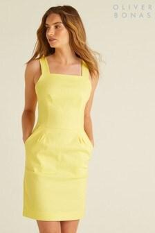 Oliver Bonas Structured Mini Dress