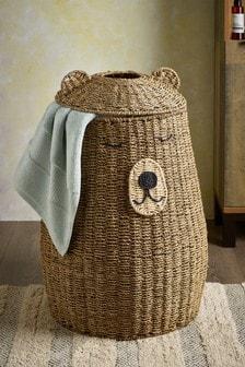 Kôš na bielizeň v tvare medveďa