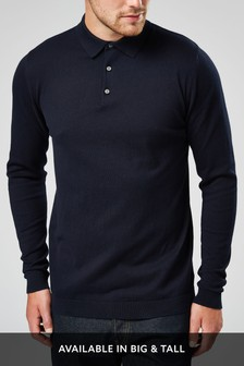 00412d4b8 Long Sleeved Polo Shirts for Men