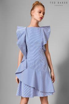 Ted Baker Nemera Frill Stripe Dress