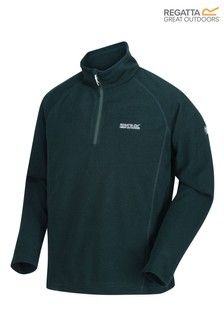 Regatta Green Montes Half Zip Fleece