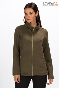 Regatta Green Subira Full Zip Jumper