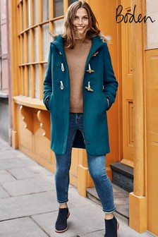 Boden Blue Brontë Duffle Coat