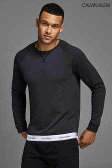 Calvin Klein Grey Modern Cotton Lounge Sweatshirt