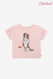 Billieblush Rose Dog T-Shirt