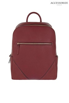Accessorize Red Judy Backpack