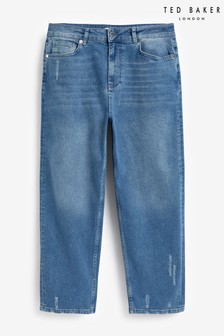 Ted Baker Twistle Straight Leg Cropped Jeans
