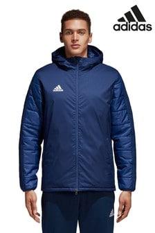 Синяязимняя курткаadidas