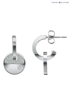 Tommy Hilfiger Ladies Circle Earrings