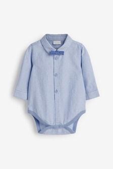Комплект с боди в стиле рубашки и галстуком-бабочкой (0 мес. - 3 лет)