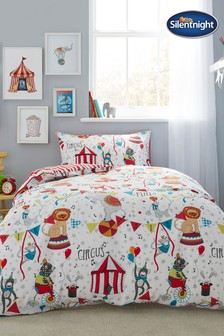 Healthy Growth Kids Circus Duvet Cover and Pillowcase Set by Silentnight