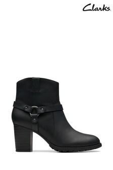 Clarks Black Verona Rock Boots