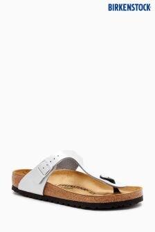 Birkenstock® Silver Gizah Sandal