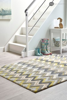 Origins Monaco Chevron Wool Tufted Rug