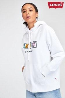 Levi's® White Box Tab Logo Hoody