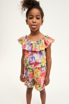 Pineapple All Over Print Playsuit (3-16yrs)