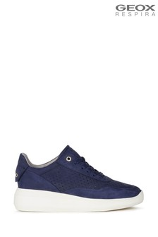 Geox Womens Rubidia Blue Shoes