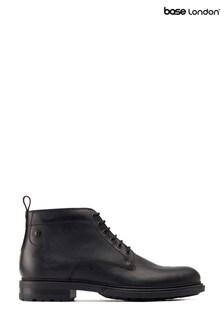 Base London® Black Clifton Work Boots
