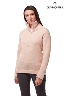 Craghoppers Pink Alphia Half Zip Fleece