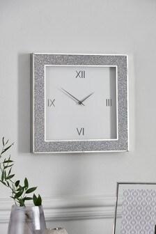 Scatter Gem Wall Clock
