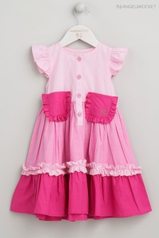 Angel & Rocket Pink Tiered Dress