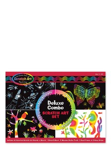 Melissa & Doug Deluxe Scratch Art Set