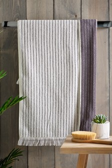 Ticking Stripe Towels