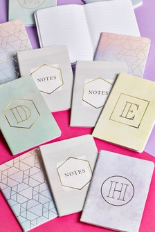 A6 Alphabet Notebook Trio