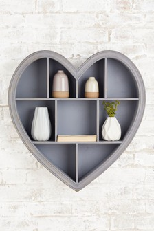 Wooden Heart Shadow Box