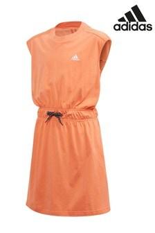 adidas Coral Tie Waist Dress