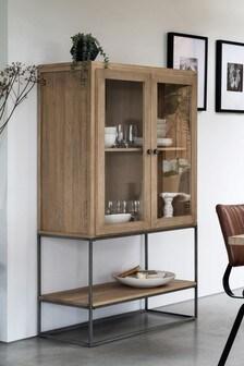 Hendrick Pine Glazed Cabinet