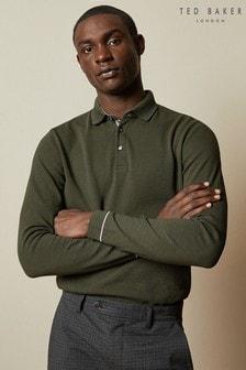 Ted Baker Khaki Poloshirt