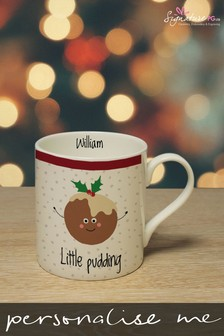 Personalised Little Pudding Mug by Signature Gifts
