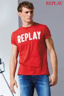 Replay® Logo T-Shirt