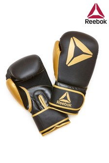 Reebok Black/Gold 10oz Boxing Gloves