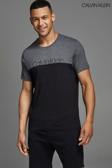 Calvin Klein Grey Colourblock Lounge T-Shirt