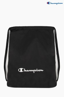 Champion Unisex Black Satchel