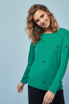 Long Sleeve Neppy Top
