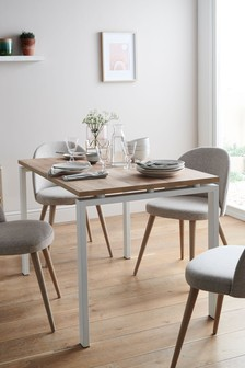 Bronx Light 6 Seater Dining Table