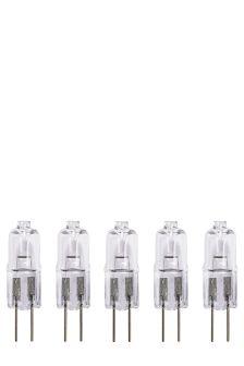 5 Pack 10W Halogen G4 Bulbs