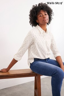 White Stuff White Cecily Cotton Shirt