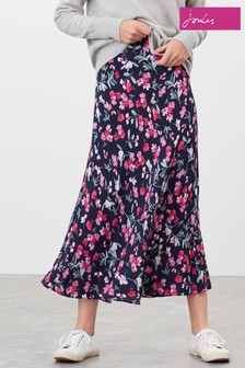 Joules Coletta Bias Cut Skirt