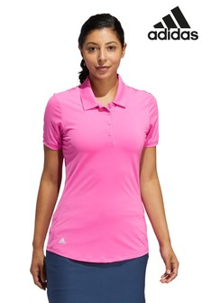 adidas Pink Golf Ultimate 365 Poloshirt