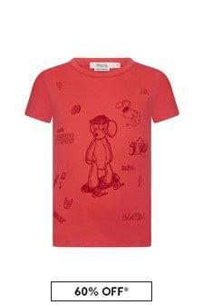 Bonpoint Boys Red Cotton T-Shirt
