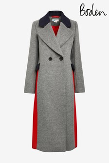Boden Grey Burney Coat