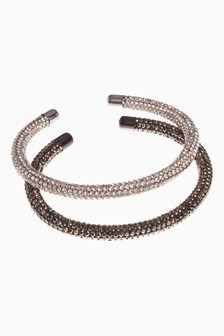Sparkle Tube Bracelets Two Pack