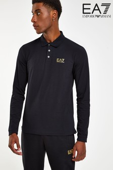 Emporio Armani EA7 Long Sleeve Polo Shirt