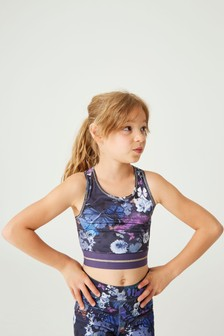Butterfly Crop Top (5-16yrs)