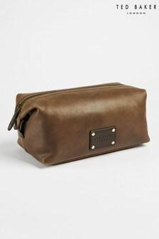 Ted Baker Artor Embossed Leather Washbag